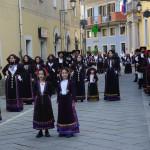 Procession in Villagrande Strisaili