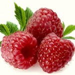 Three Raspberry Fruits