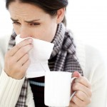 Young Lady with Flu