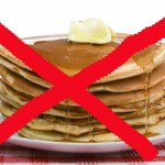 No Pancake Sign